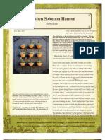 Monthly Newsletter for Feb.-mar. 2011