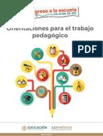 Orientaciones pedagógicas 21-22