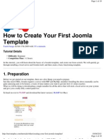 - 00 HOW TO CREATE YOUR FIRST JOOMLA TEMPLATE