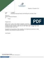 Surat Permintaan MASKER