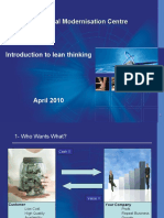 02 Introduction to Lean Thinking
