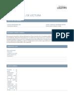 Ficha Control de Lectura Completa