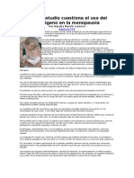 Estrogenos en menopausia
