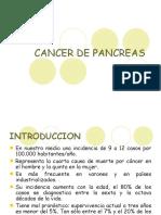 CANCER DE PANCREAS - sin imagenes