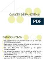 CANCER DE PANCREAS - sin imagenes