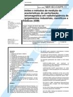 NBR IEC-CISPR 11 - 1995