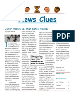 News Clues newspaper
