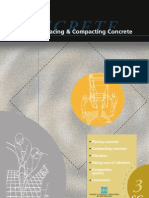 Placing and Compacting Concrete