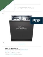 NEFF vollintegrierbarer Geschirrspüler N 50, S155HTX15E, 12 Maßgedecke online kaufen _ OTTO