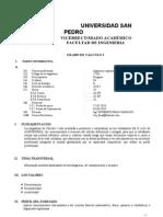 Silabo Usp Calculo I-Agronomia II[1]