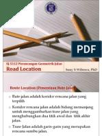 SJ-5112 1011 5 Route Location