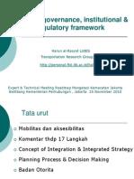 Expert & Technical Meeting Roadmap Mengatasi Kemacetan JakartaBalitbang Kementerian Perhubungan - 2010