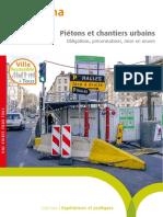 EX18028518 Pietons Chantiers Urbains