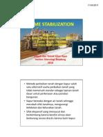 Stabilisasi Tanah Dengan Kapur (Presentasi STJR-ITB)