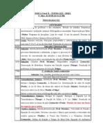 Plano de aulas 2010 1