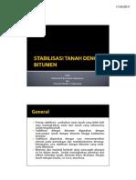 Stabilisasi Tanah Dengan Bitumen (Presentasi STJR-ITB)