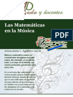 musica y matematicas