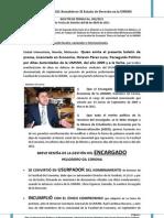 110406 - octavio pérez luna - boletín de prensa No. 002-2011
