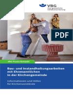 Bau Und Instandhaltungsarbeiten Mit Ehrenamtlichen in Der Kirchengemeinde Praxis Kompakt