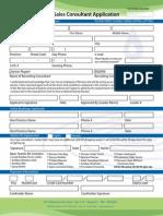 Norwex Consultant Application Form Canada