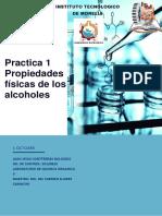 Practica 1 Reacciones de Alcoholes