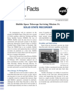 Hubble Facts Hubble Space Telescope Servicing Mission 3A Solid State Recorder