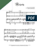 @MAJESTY satb-piano score