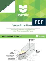 Aula 4 - Formacao de Cavaco 2015