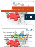 Sales and Distribution R.K. Consultants New