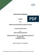 PARTICIPANT WORKBOOK pro-e