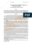 The Use of Currency Derivatives by Brazilian Companies An Empirical Investigation