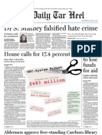 The Daily Tar Heel for April 13, 2011