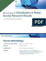 RetailVirtualizationSurveyResults