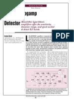 Design a Logamp RF Pulse Detector