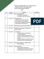 Rancangan Aktiviti Tahunan 2010 KPJ