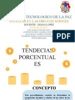 TENDENCIAS PORCENTUALES