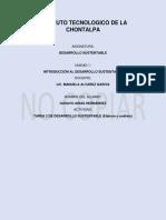 Tarea 2 de Desarrollo Sustentable (Elabora u Análisis)