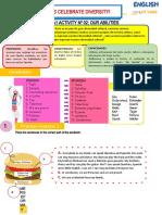 Worksheet PRE A1 EdA 5 Activity 2
