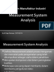 Measurement System Analysis Fajar1