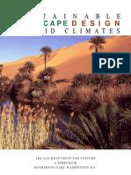 [architecture] Sustainable landscape design in arid climates