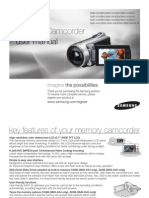 Samsung Camcorder SMX-K40N English User Manual