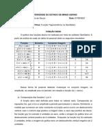 Função Trigonométrica no GeoGebra