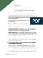CONDICIONAMIENTO CLASICO Y OPERANTE