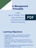 BASIC CHARCTERSTIC OF MANAGEMENT