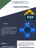 Apresentação de Ergonomia- NR 17