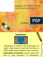 ROLE OF Information TECHNOLOGY IN SUPPLY CHAIN MANAGEMENT-2