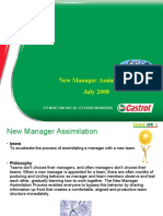 New Manager Assimilation
