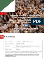 LH2 -Intentions de Vote Primaires PS UMP - Avril 2011