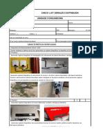 Check List Microminigeração - Vistoria