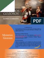 Misterios Gozosos - Rosario de la Virgen Maria